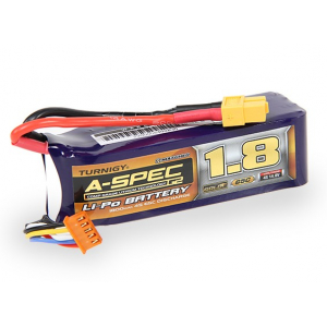 Turnigy nano-tech A-SPEC G2 1800mah 4S 65~130C Lipo akumuliatorius