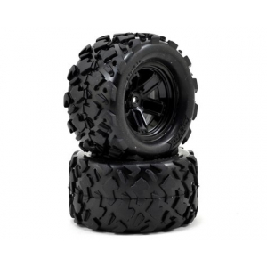Traxxas LaTrax Assembled Teton 5-Spoke Wheels & Tires (2)