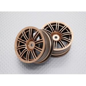 1:10 Scale High Quality Touring / Drift Wheels RC Car 12mm Hex (2pc) CR-M3G