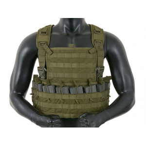TACTICAL RIFLEMAN CHEST RIG - OLIVE [8FIELDS]