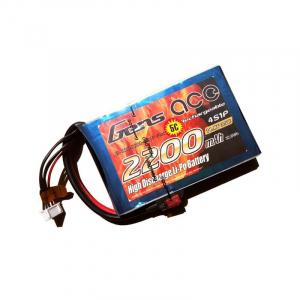 Gens ace 2200mAh 14.8V 35C 4S1P Flat Pack - Multirotors