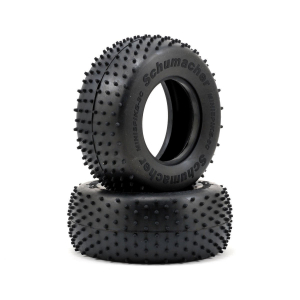 Schumacher U6766 - Short Course Tyre - Mini Spike - Yellow (2) U6766