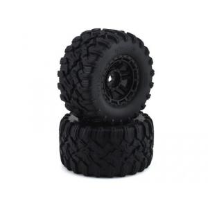 "Traxxas Maxx 2.8"" All-Terrain Pre-Mounted Tires (2) (Black)"