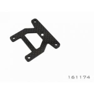 Graphite Front Upper Steering Deck 2.0 mm