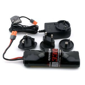 Arrma 8.4v 3300mah NiMH Battery And AC Charger Senton Granite Typhon 4x4 MEGA