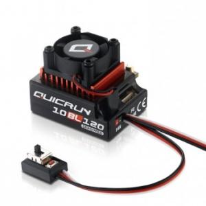 Hobbywing QUICRUN 10BL120 ESC (1/10th scale 120A sensored Brushless ESC)