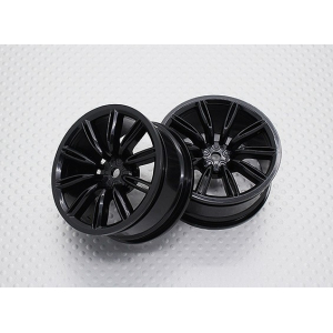 1:10 Scale High Quality Touring / Drift Wheels RC Car 12mm Hex (2pc) CR-VIRAGENB