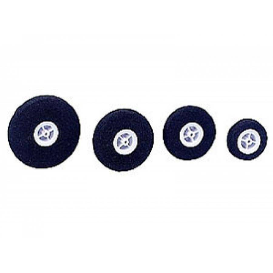 Lightweight foam rubber wheel, 2 Pcs