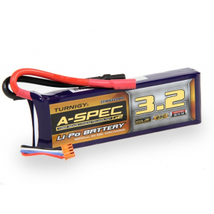 Turnigy nano-tech A-SPEC G2 3200mah 3S 65~130C Lipo akumuliatorius