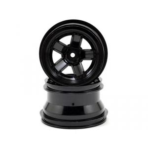 Traxxas LaTrax Teton 5-Spoke Wheels (Black) (2)