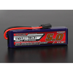 Turnigy nano-tech 5000mah 3S 40~80C Lipo Pack (TRA2872 Slash/Slash 4x4)