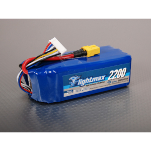 ZIPPY Flightmax 2200mAh 6S1P 40C