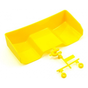 SWorkz S104 Rear Wing Set (No Holes) (Yellow)