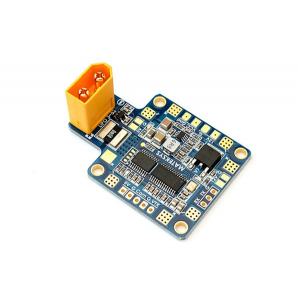 Matek Multi-rotor X-shape Power Distribution Board W/ 5V/ 12V outputs, Current Sensor, OSD (XT60 Connector) STOSD8