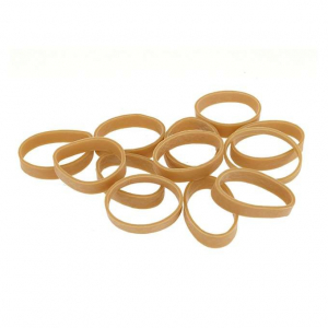 NAVY SEALS ELASTIC RUBBER BANDS 12PCS - DARK EARTH [8FIELDS]