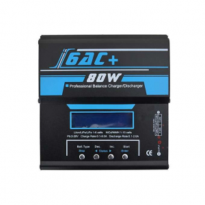 PROFESSIONAL BALANCE CHARGER/DISCHARGER I6AC+ 80W [IPOWER]