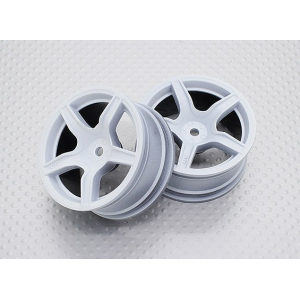1:10 Scale High Quality Touring / Drift Wheels RC Car 12mm Hex (2pc) CR-C63W