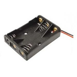 Baterijų 3xR3-AAA laikiklis