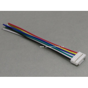 Thunderpower male connector with 24AWG PVC wire 7P L=10CM [168]