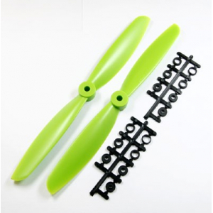 10 x 47 Propeller Set (one CW, one CCW) - Green