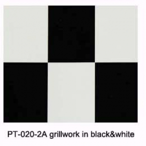 Grill-work grillwork in black&white(600mm*1meter)