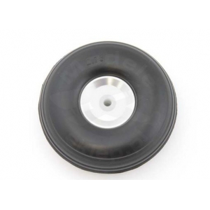 Rubber wheel 70 mm (aluminium rim and PTFE hub)