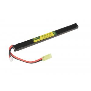LiPo 7.4 V 1200mAh 20/40C akumuliatorius - Under AK Dust Cover