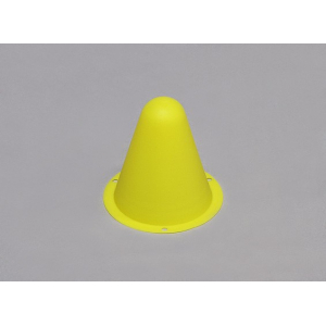 Plastic Racing Cones for R/C Car Track or Drift Course - Yellow