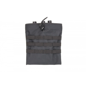 Drop bag for empty magazines - black