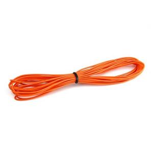 Aukštos kokybės 26AWG silikoninis laidas 5m (Orandžinis)