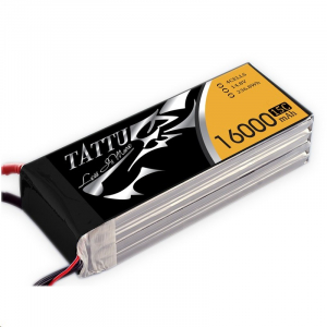Tattu 16000mAh 4S1P 15C 14.8V Lipo Battery Pack