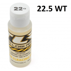Team Losi Racing Silicone Shock Oil (2oz) (22.5wt)