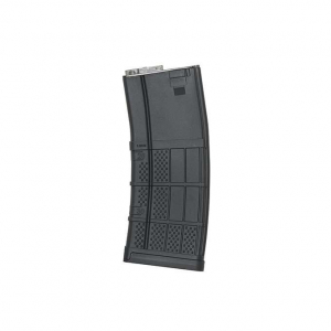 120RD ADVANCED POLYMER MID-CAP AR-15/M4 MAGAZINE - BLACK [KUBLAI]