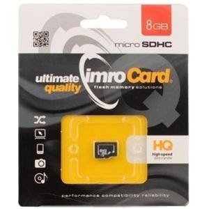 Imro Micro SDHC 8GB Class 10 PAMIMRSDG0014 atminties kortelė