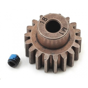 Traxxas Hardened Steel Mod 1.0 Pinion Gear (18T) w/5mm Bore