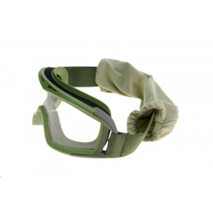 Low-profile goggles - olive