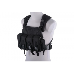 Commander Chest Rig Tactical Vest - black