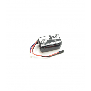 SQUARE LIFE RECEIVER BATTERY 6.6V 2000 Mah 30,9X32X56