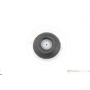 Rubber wheel with plastic rim. 44 mm - ECO