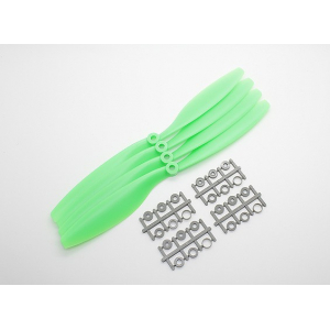10x4.5 SF Props For DJI Motor CCW Rotation (From Rear)  (Green) 1vnt