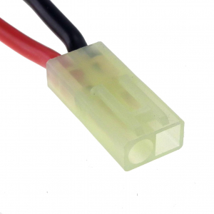 Mini female Tamiya connector with 16AWG 10cm cable
