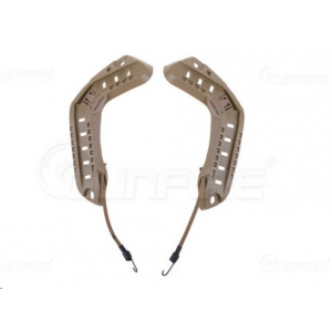 Helmet Mounting Rail - tan