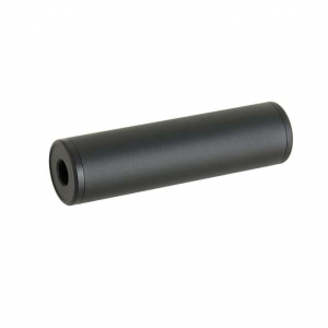 130X35MM DUMMY SOUND SUPPRESSOR - BLACK [M-ETAL]