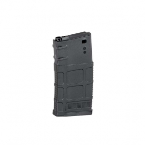 120-ROUND SR25/AR10 RIFLE MAGAZINE - BLACK [BATTLEAXE]