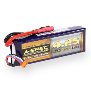 Turnigy nano-tech A-SPEC G2 4250mah 3S 65~130C Lipo akumuliatorius
