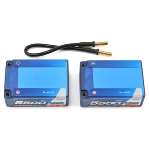 LRP Competition 2S LiPo 55C Hard Case Saddle Battery Pack (7...