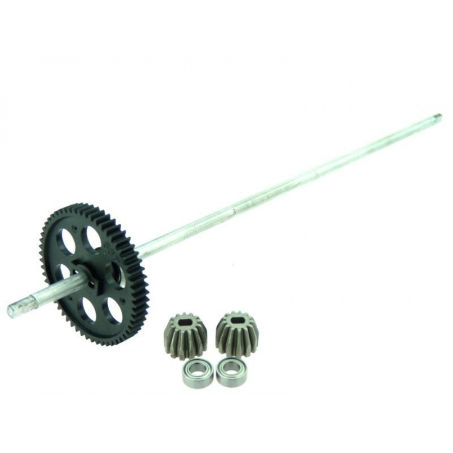Himoto Center Driveshaft Complete with Gear 1 set