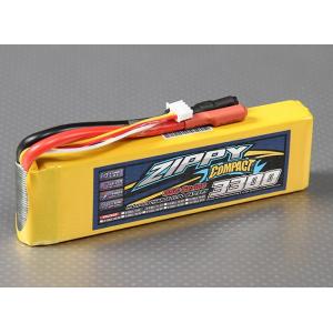 ZIPPY Compact 3300mAh 3S 35C Lipo Pack