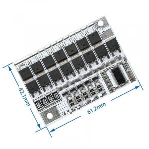 3.2V BMS 5S 25A 100A 21V 18V Meter 5S Level 18650 Li-ion Battery Protection Circuit Board PCB Charger Balance Indictor Tester DIY Kit