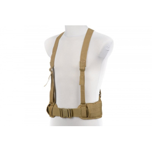 X-Type Suspenders - Tan